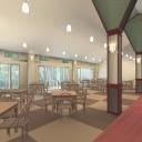 食堂パース