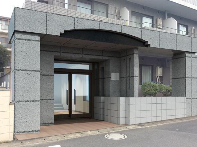 千葉県松戸市外観パース