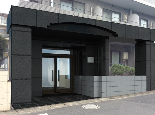 松戸市外観パース